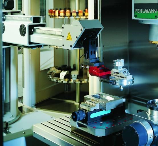 Durchdachte Automatisierung: effektiv und äußerst platzsparend.