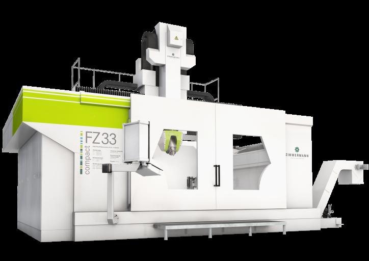 Mit der neuen Portalfräsmaschine FZ 33 compact lassen sich kleinere und mittlere Bauteile wirtschaftlich bearbeiten.