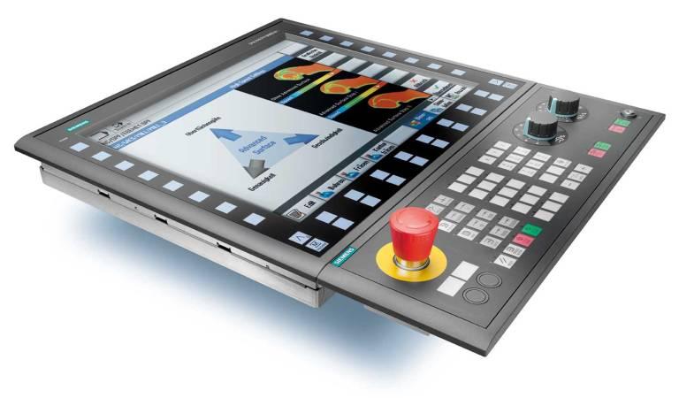 Auch im Werkzeug- und Formenbau, bei Rundtaktmaschinen und in der Werkstattfertigung wird das Sinumerik OP 019 als Bedien- und Programmiereinheit eingesetzt.