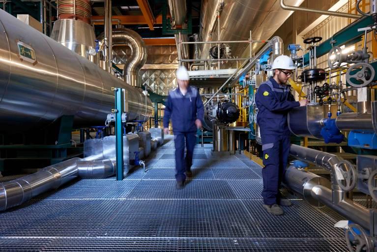 Actemium bietet Lösungen und Dienstleistungen im industriellen Anlagenbau.