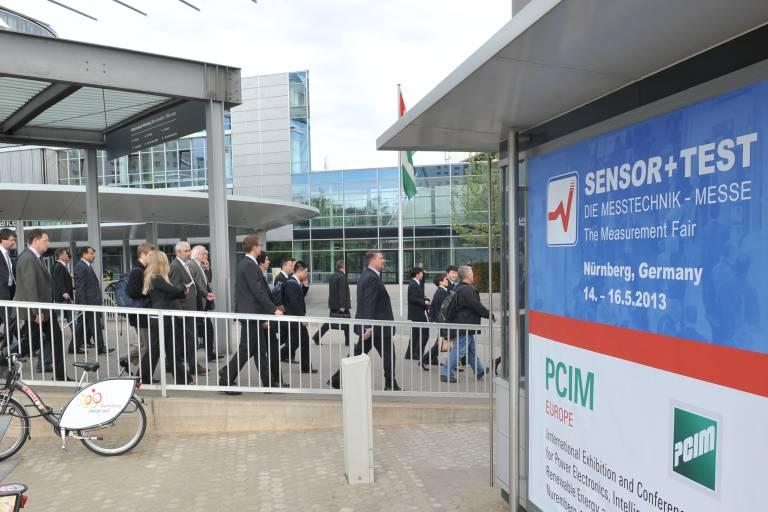 Die Sensor+Test in Nürnberg ist Europas einzige internationale Fachmesse für Sensorik, Mess- und Prüftechnik.