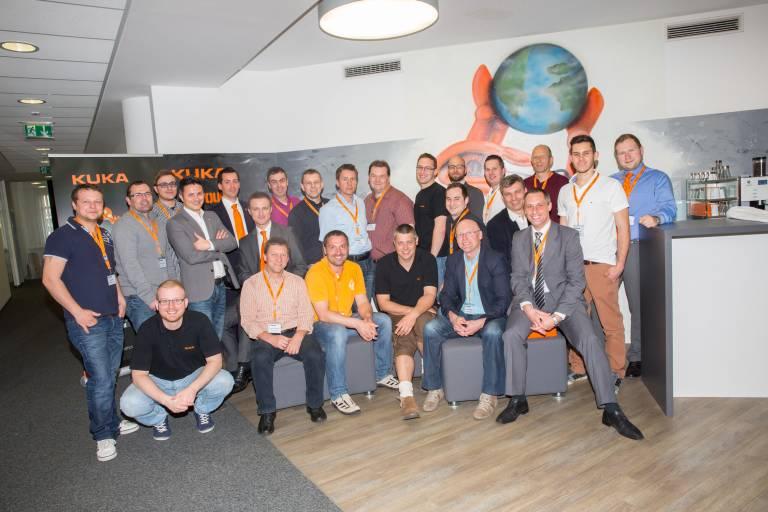 Der KUKA Techniker Workshop am 3. April 2014 in Linz fand regen Zuspruch.