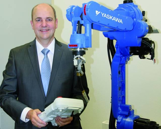 Michael Fraede (51) verantwortet bei Yaskawa als General Manager Business Unit Robotics das Geschäft mit Einzel-Robotern der Marke Motoman.