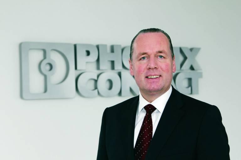 Frank Stührenberg, Geschäftsführer Vertrieb und zukünftiger Vorsitzender der Geschäftsführung der Phoenix Contact GmbH & Co KG.