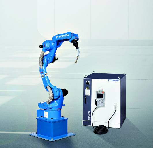 Die neue Steuerung DX200 für Motoman-Roboter von Yaskawa bietet über 120 anwendungsspezifische Funktionen.