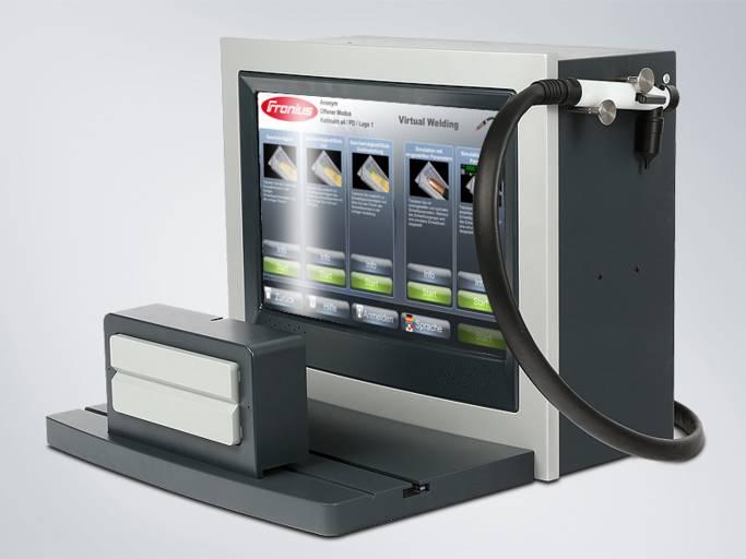Virtual Welding für Elektrodenschweißen.