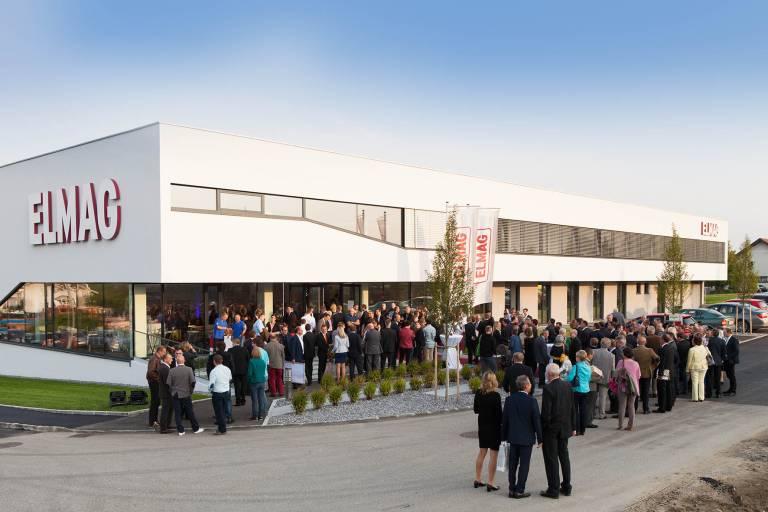 Das neue ELMAG Präsentations- und Kompetenzzentrum wurde  regelrecht gestürmt.