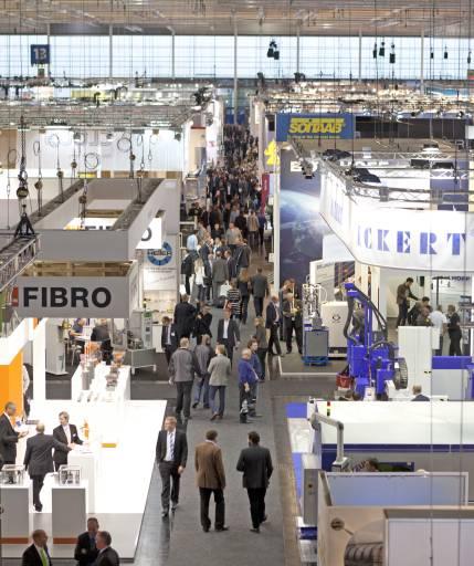 59.600 Fachbesucher kamen zur EuroBLECH, um sich über die neuesten Technologietrends entlang der Prozesskette Blech zu informieren.