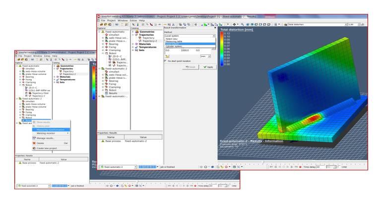 Die neue Softwareversion ermöglicht im Post-Processing jetzt eine Auswertung mit Hilfe benutzerdefinierter Koordinatensysteme.