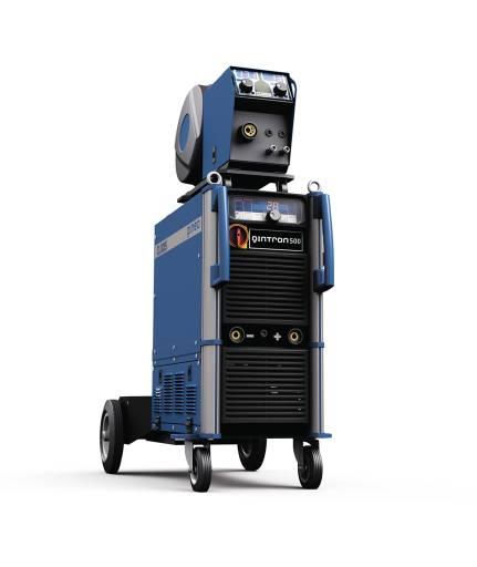 Neuentwickeltes und multifunktional einsetzbares Inverter-Schweißgerät Qintron zum manuellen Schweißen.