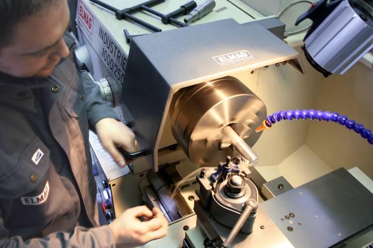 Auf 300 m² Standardfläche werden Maschinen für die Metalltver- und bearbeitung präsentiert.