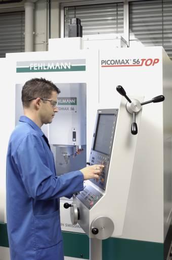 Die PICOMAX 56 TOPvon Fehlmann bietet einen effizienten und schnellen Einsatz, auch ohne besondere Programmierkenntnisse.