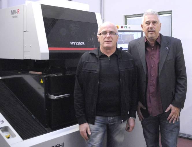 Geplante Qualitätsziele erreicht: Raimund Premauer, Leiter des HTM-Werkzeugbaus und Harald Umreich, Geschäftsführer der Harald Umreich Ges.m.b.H.