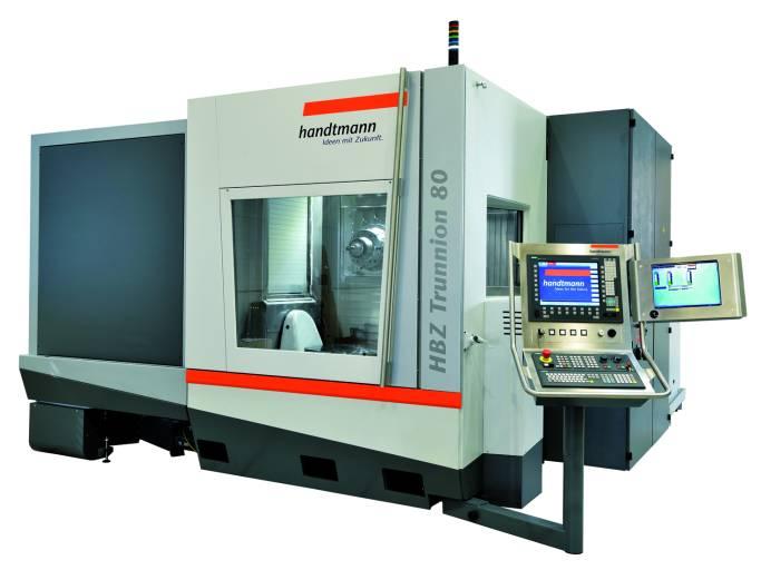 HBZ® Trunnion® 80 T – erstes Fräs‐Drehzentrum von Handtmann A‐Punkt. Live auf der AMB 2014.