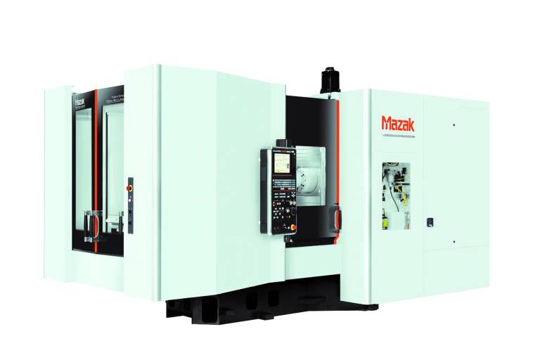 Das Horizontal-Bearbeitungszentrum HCN 5000-III ist besonders für die Großserienfertigung geeignet.