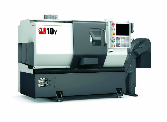 Die Drehzentren der Modellreihe ST von Haas Automation gewährleisten Span für Span eine zuverlässige Genauigkeit und Wiederholbarkeit.