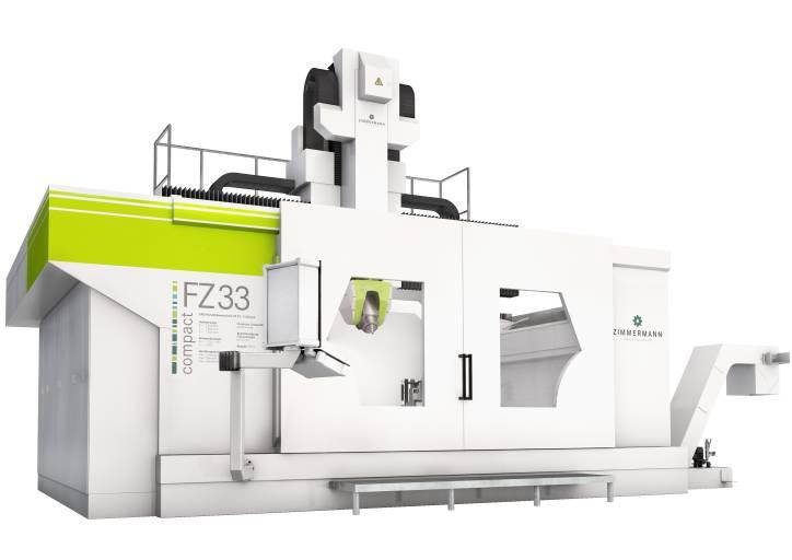 F. Zimmermann hat den Arbeitsbereich der FZ 33 compact erweitert. Damit stehen dem Anwender noch mehr Möglichkeiten zur Verfügung. Bilder: F. Zimmermann GmbH
