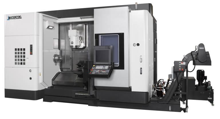 Das horizontale Dreh-/Fräszentrum Multus U3000 2SW 1000 basiert auf dem bewährten TFC-Prinzip (Thermo-Friendly Concept).
