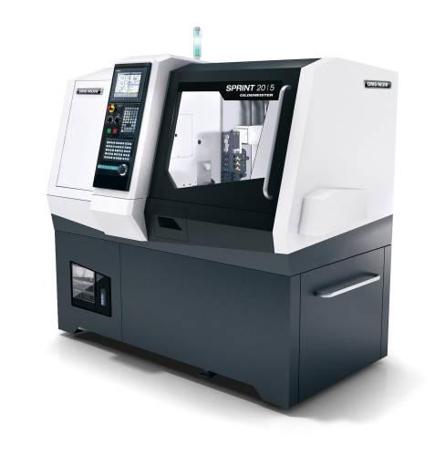 Mit unter zwei Quadratmeter Stellfläche ist die SPRINT 20|5 ein wahres Raumwunder und damit optimal für die Herstellung von Klein- und Kleinstteilen geeignet.