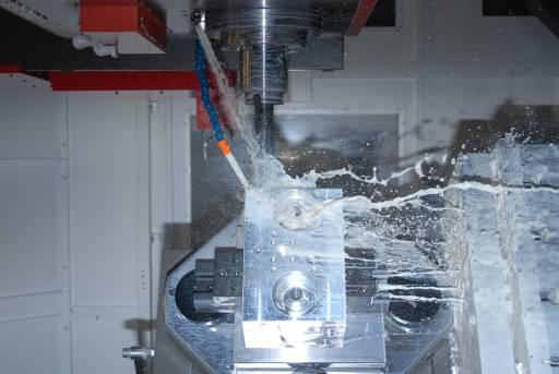 Wesentlicher Verwendungsbereich für das neue Bohrwerk ist aktuell die Herstellung von Komponenten wie Hydraulik- und Ventilblöcke. Der Anwendungsbereich wird in Zukunft sicherlich noch ausgeweitet.