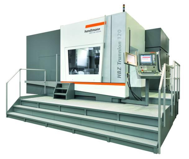 5-Achs HPC Horizontalbearbeitungszentren zur Bearbeitung von Werkstücken bis max. 850, 1300 bzw. 1700 mm Durchmesser