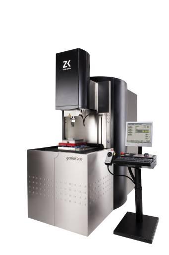 genius 700 mit der neuen Generatortechnologie ist der Garant für Präzision und minimalsten Verschleiß – und Elektroden profilieren im laufenden Prozess ist eine Bearbeitung, die in dieser Kombination nur mit ZK-Maschinen und der neuen Generatortechnologie durchführbar ist.