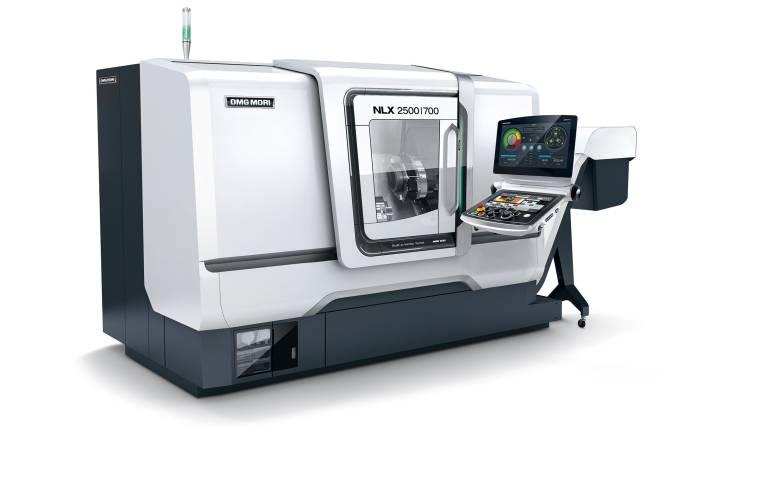 Die NLX-Baureihe bietet durch neun Maschinenmodelle mit 29 Varianten für jede Anwendung die richtige Lösung – hier am Beispiel der NLX2500|700.
