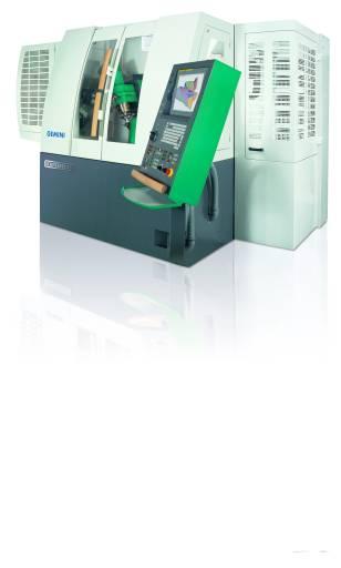 Die multifunktionale Werkzeugschleifmaschine Gemini überzeugt mit robuster Bauweise und die stabiler Kinematik.