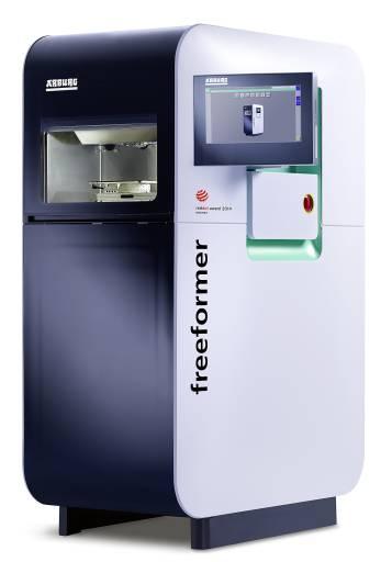 Der Freeformer verbindet jahrzehntelanges Know-how aus dem Spritzgussbereich mit modernster Technologie für die Additive Fertigung.