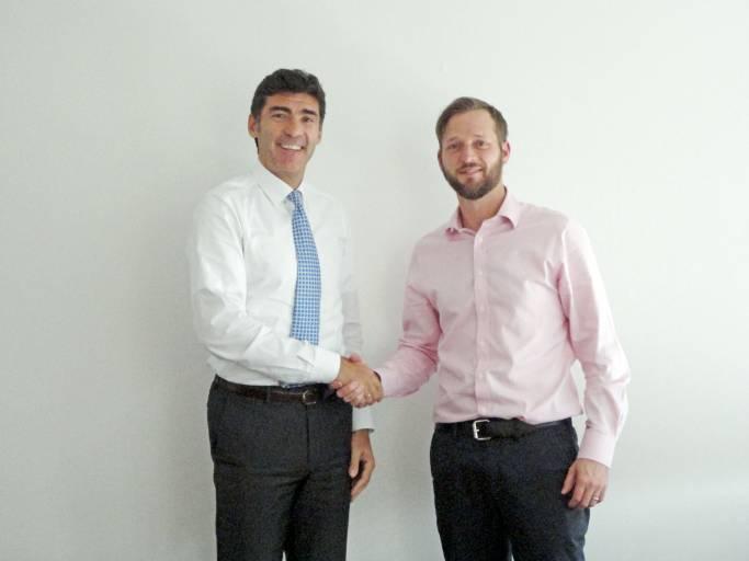 V. l.: Jaime Jose Obiols und Phil Dock .