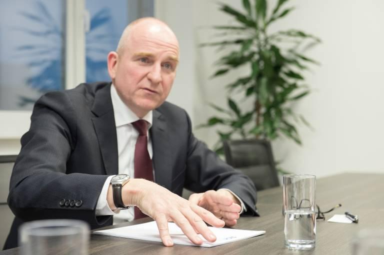 Markus Vatter, Mitglied des Vorstands der SICK AG und verantwortlich für die Ressorts Controlling, Finance & IT.