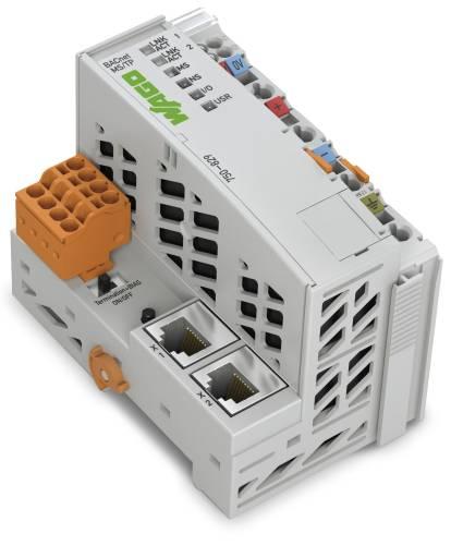 Der Bacnet-Controller (750-829) mit MS/TP-Master-Funktionalität für die serielle Kommunikation ins Feld.
