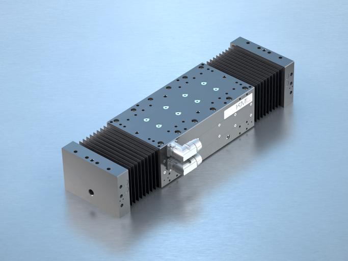Linearmotorsystem Serie LMS E² mit kompletter Kapselung.