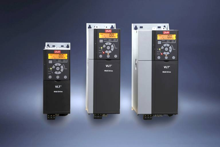 Danfoss stellt auf der SMART den VLT® Midi Drive FC 280 vor.