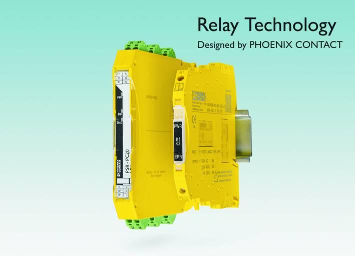 Die neuen Sicherheitsrelais PSR Mini von Phoenix Contact sind leistungsfähig, kompakt und mit vielen Signalgebern kompatibel.