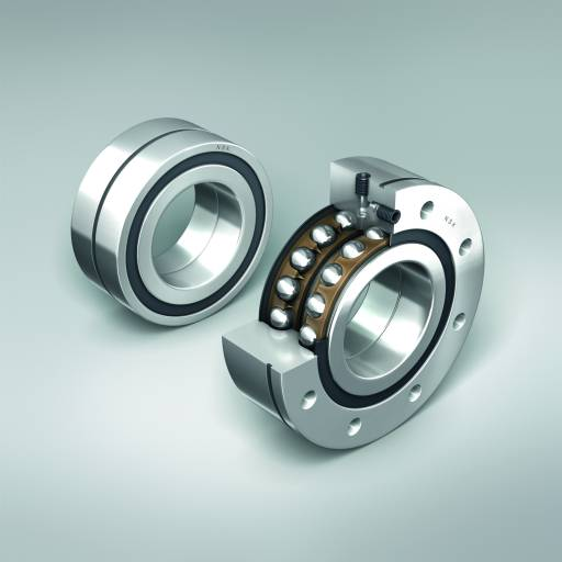 Axial-Schrägkugellager für Kugelgewindetriebe - BSBD-Serie. Entwickelt, um den anspruchsvollen Anforderungen moderner Werkzeugmaschinen gerecht zu werden.