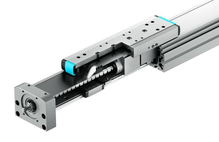 Auf der SPS IPC Drives zu sehen: Die neue Spindelachse ELGA-BS-KF von Festo.