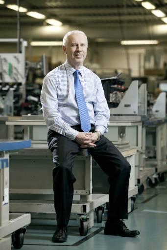 Der neue Direktor von Danfoss Drives, Vesa Juhani Laisa.