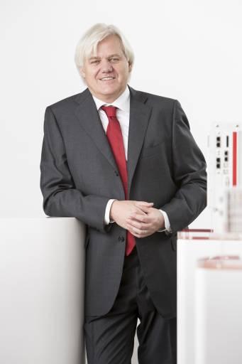 Hans Beckhoff, Geschäftsführender Inhaber der Beckhoff Automation GmbH & Co. KG. (Bildnachweis: Beckhoff Automation)