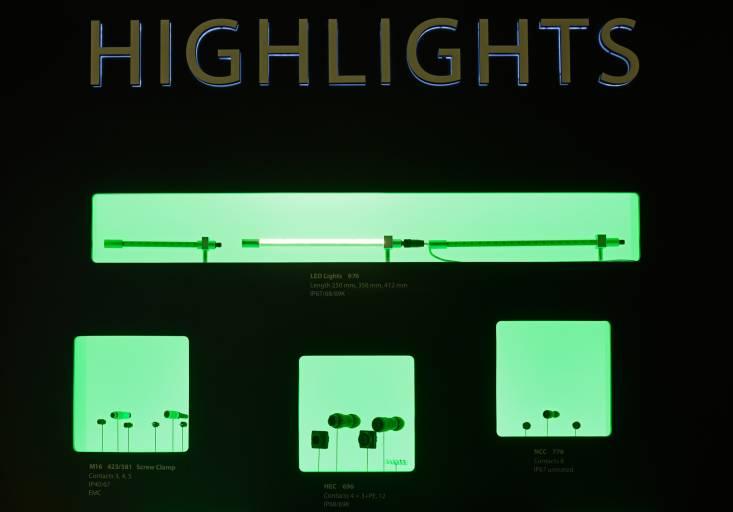 So sah die Präsentation der Produkt-Highlights auf der SPS aus.