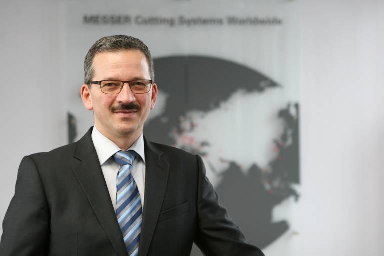 Messer Cutting Systems GmbH Europe unter neuer Leitung von DI (FH) Christian Jung.