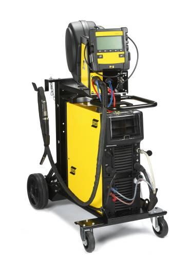Esab präsentiert mit der Aristo® Mig 4004i Pulse eine leichte, inverterbasierte Stromquelle für hochproduktives Schweißen.