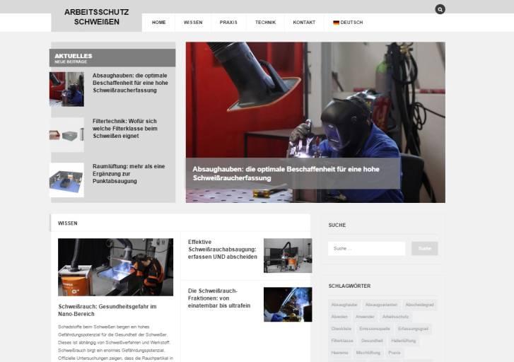 Unter www.arbeitsschutz-schweissen.de startet Kemper eine neue Informationsplattform für mehr Bewusstsein im Bereich Arbeitsschutz.