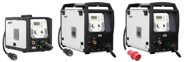 Die Geräteserie Picomig Synergic eignet sich für den Baustellen-, Montage- und Werkstatteinsatz. (Bilder: EWM AG)
