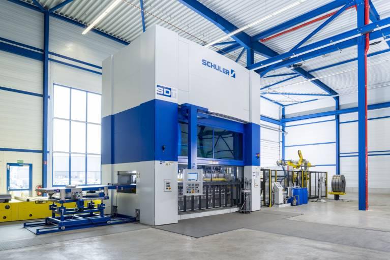 In Göppingen baut Schuler zukünftig alle Inhouse-Pressen, die im Werk komplett aufgebaut und in Betrieb genommen werden können.