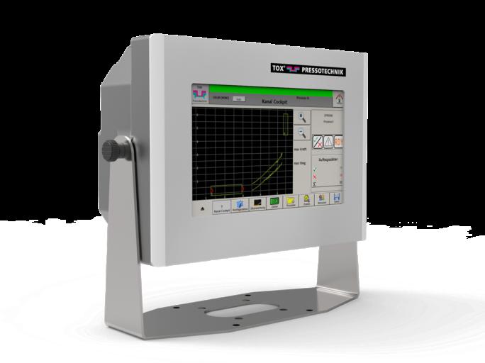 Die Einpressüberwachung EPW 500FP überwacht durchgängig alle Prozesse, bei denen genau definierte funktionelle Zusammenhänge zwischen Kraft und Weg lückenlos nachgewiesen werden müssen.