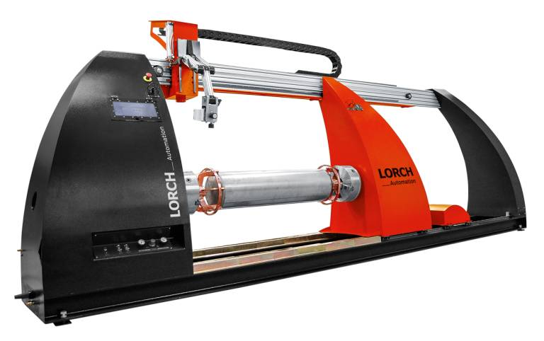 Der neue Lorch Roundseam Topslider für schnelle und präzise Schweißnähte ergänzt ab 2016 das LAS Automatisierungsprogramm.