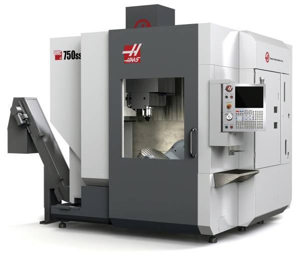 Haas Automation erweitert seine Modellreihe von universellen Bearbeitungszentren um die 5-Achsen High-Speed Version UMC-750SS.