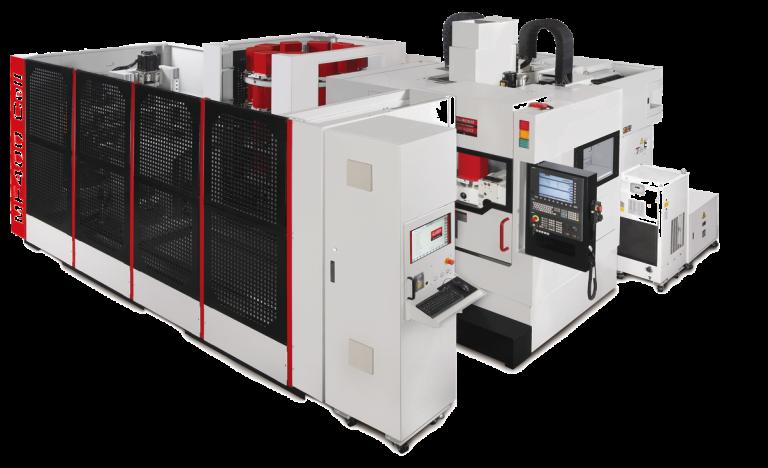 Die beiden 5-Achsen-Modelle MF400 sowie MF500 können nun auch in den Varianten MF400 CELL und MF500 CELL automatisiert angeboten werden.