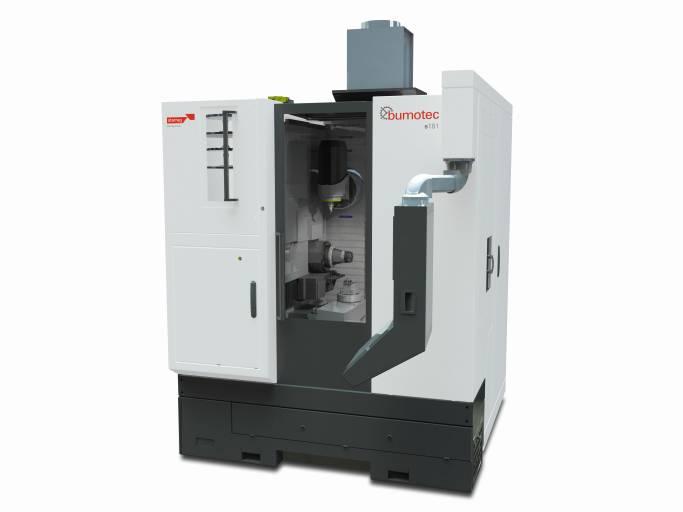 Nimm zwei: Zu den bereits erhältlichen Optionen der neuen Bumotec S181 zählt beispielsweise eine zweite Arbeitsstation, die im Idealfall die Produktivität verdoppelt. Bild: Starrag Group/Bumotec.